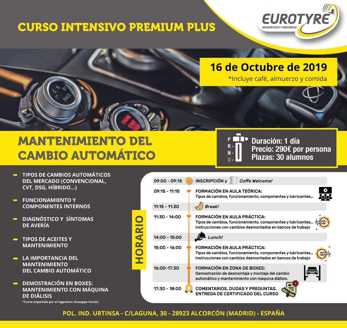 curso intensivo de eurotyre 2019